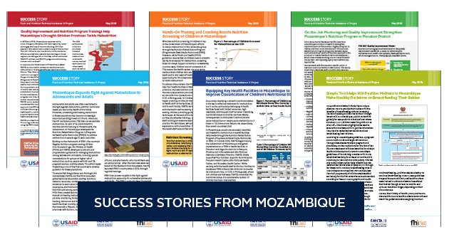Images of the success story briefs