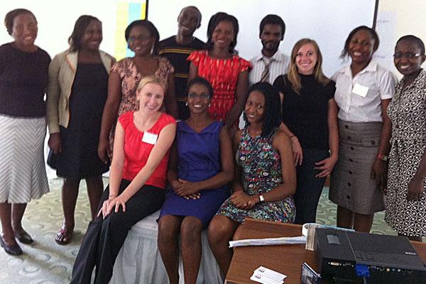 Fellows, mentors, and FANTA staff