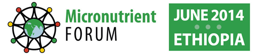 Micronutrient Forum 2014 logo