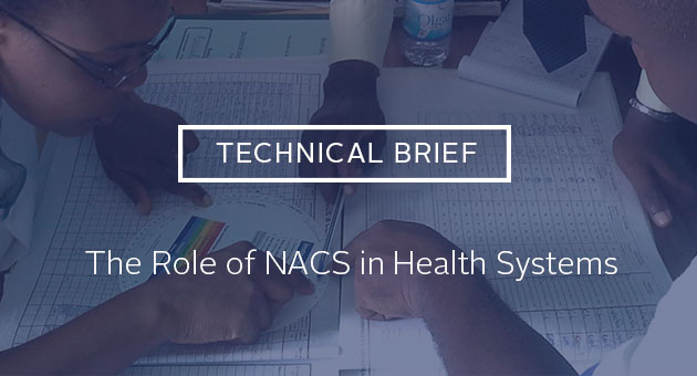Technical Brief: The Role of NACS in Health Systems. Training on the use of the BMI wheel to assess nutritional status in Côte d'ivoire.