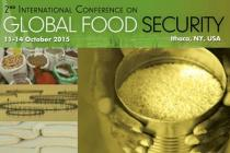 2nd International Conference on Global Food Security. 11-14 October 2015. Ithaca, NY, USA