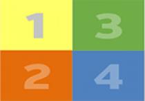 Image indicating four steps.