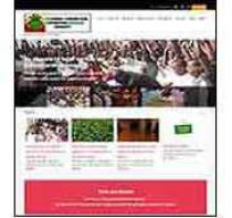 image of homepage of UGAN website