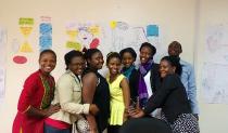 Graduates of the Uganda Nutrition Fellowship.