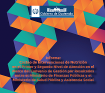 Cover of report Activity-Based Costing in Guatemala