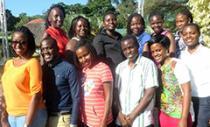 portrait of the 2015 Uganda Nutrition Fellows